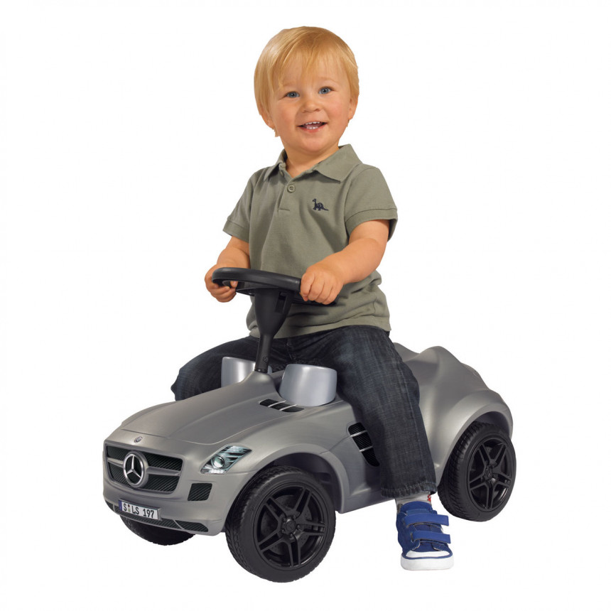 Big Bobby Mercedez Benz Sls Amg Ride On Black Grey Online
