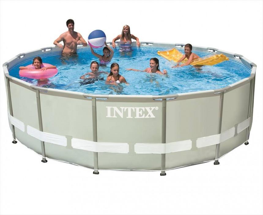 Intex Ultra Frame Swimming Pool 427 X 107 Cm Online