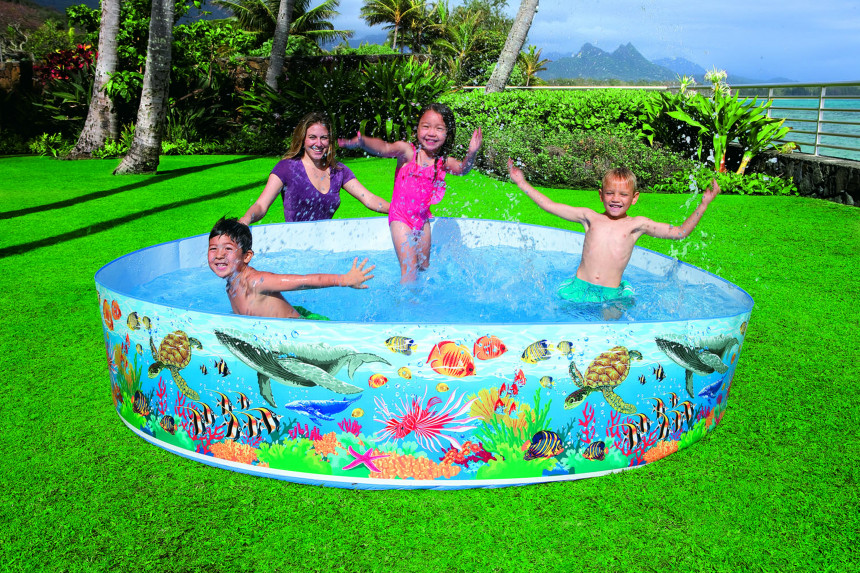 Intex Coral Reef Snapset Pool 244 X 46 Cm Online