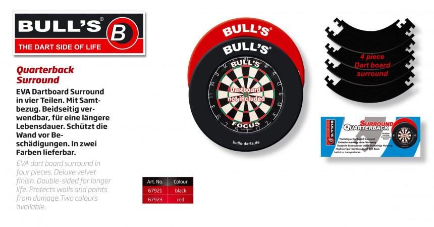 Bull S Quarterback Eva Dart Board Surround Red Online
