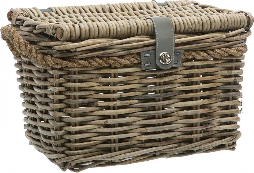 Woven Storage Baskets Melbourne : New looxs melbourne rattan basket grey