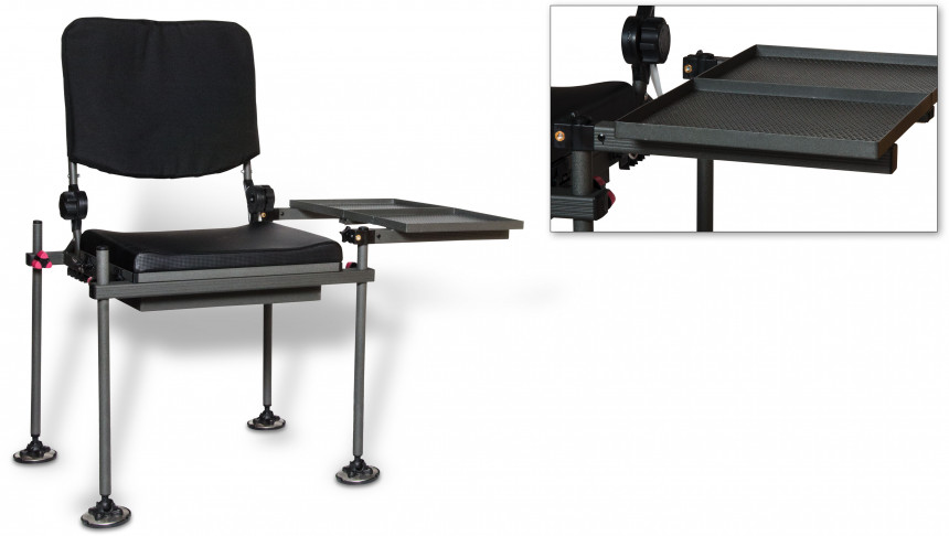 Browning King Feeder Chair - Black / Silver  sc 1 st  Athleteshop.com & Browning King Feeder Chair - Black / Silver online