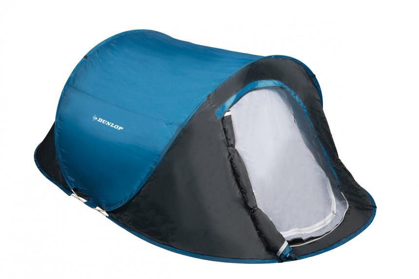 Dunlop HT 190 T Pop Up Tent - 2 persons - Blue / Grey  sc 1 st  Athleteshop.com & Dunlop HT 190 T Pop Up Tent - 2 persons - Blue / Grey online