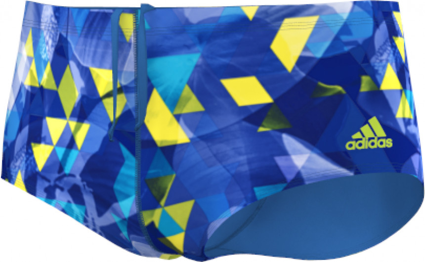 Adidas Xtreme Graphic Sunga Swim Shorts Men - Shock Blue   Solar Yellow 47f34bb4db1