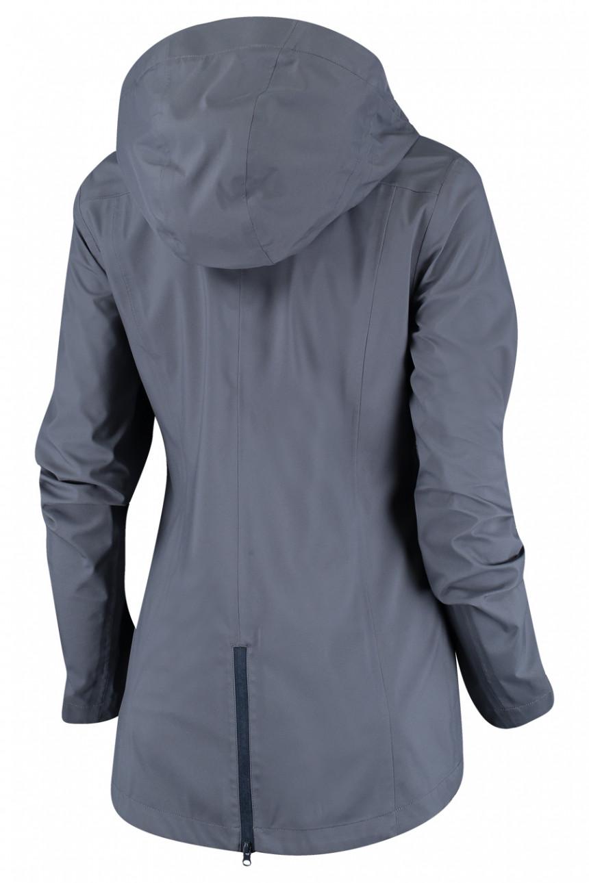 opgehaald gedetailleerde afbeeldingen retro Nomad Elfin Waterproof Jacket Women - Dim Grey