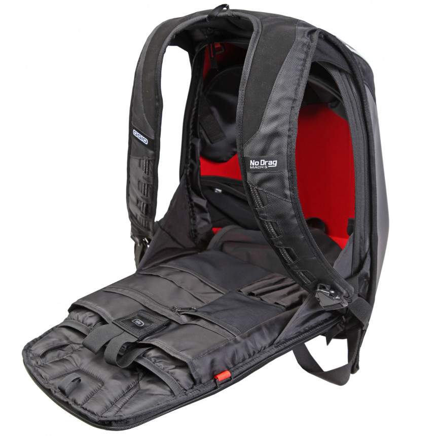 Ogio Mach 5 >> Ogio No Drag Mach 5 Le Motorcycle Backpack 24 L Red Online