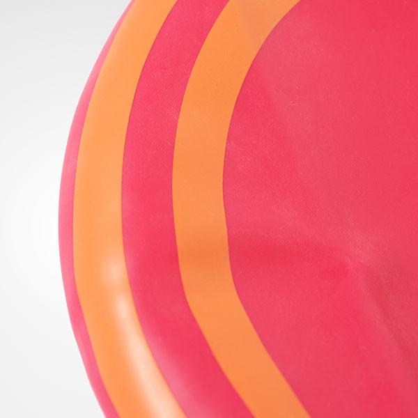 88e0f3d0b24 Adidas 3-Stripes Silicone Swim Cap - Girls - Blaze Pink   Bliss Coral