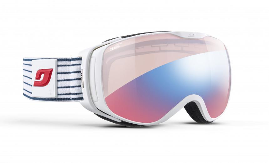 release info on buying now low price Julbo Luna Ski Goggles - Blue - Zebra Light Red online ...