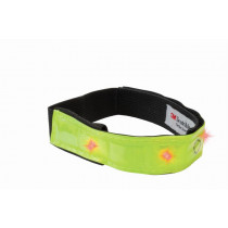 Wowow reflective wear smart Bar - Yellow with 4 red Leds