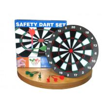 Longfield Kids Safety Dartboard with 6 Darts