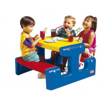 Little Tikes Primary Junior Picnic Table