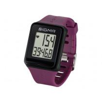 Sigma iD.GO Sports Watch - Black / Purple
