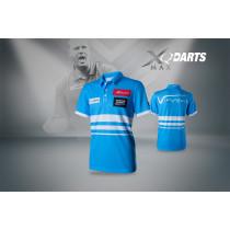 XQ Max Dart Shirt VvdV - Blue