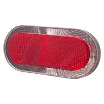 Spanninga Bike Rear Light - LED - Elips XB - 80 mm
