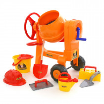 Wader Concrete Mixer with Accessories - 9 pcs