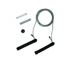 Tunturi Jumprope Steel - adjustable weight