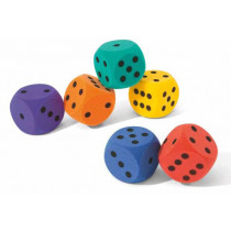Volley  Foam Dice - 160 mm - 90 g - Orange
