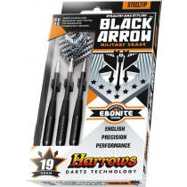 Harrows Black Arrow Military Grade Steeltip Darts