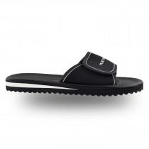 Rucanor Santander Slipper with velcro strap Senior - black/white