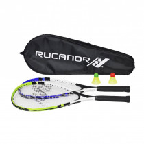 Rucanor Speed Badminton set - Blue/Green