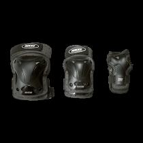 Roces Ventilated 3-pack Protectors - Black