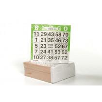 Longfield set of 500 Bingo cards