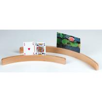 Longfield Wooden Card Holder