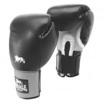 Lonsdale Jab Training Glove - Hook & Loop - Black / Grey