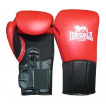 Lonsdale Performer Training Glove - Red/Black - 12 oz
