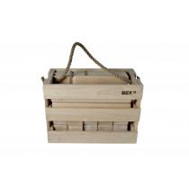 Bex Kubb Viking Original - Rubber Wood in Chest