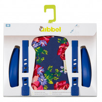 Qibbel Front Seat Styling Set - Blossom Roses Blue