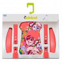 Qibbel Front Seat Styling Set - Blossom Roses Coral