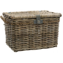 New Looxs Melbourne Rattan Basket - Grey