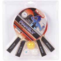 Buffalo Family Table Tennis Bat Set