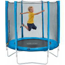 Plum Junior trampoline and Enclosure-Blue 4,5ft