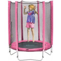 Plum Junior trampoline and Enclosure-Pink 4,5ft