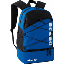 Erima Multifunctional Backpack with bottom case - new royal blue / black