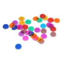 Bingo Chips Transparant Multicolour - 300 pieces