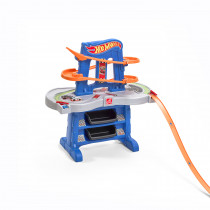 Step 2 Hot Wheels Road Rally Raceway Race Track - Blue / Orange