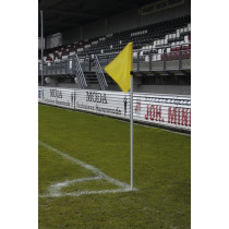 UEFA Corner Flag Pole White 30