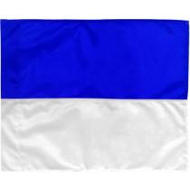 Corner Flag 2 colors - Blue/White