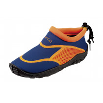 Beco Surf- Swimming Shoe Neoprene Junior - Blue/Orange