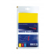 Beco Fitness/Therapy Elastic Rubber Light 15 x 150 cm - Yellow
