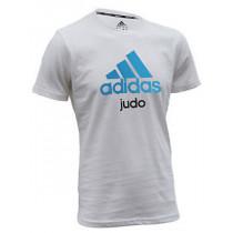 Adidas T-Shirt Judo - Unisex - Blue / White