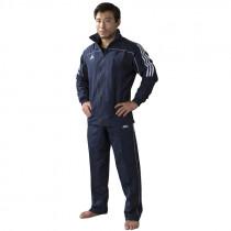 Adidas Team Track Training Jacket - Blue/White