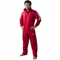 Adidas Team Track Training Jacket - Red/White