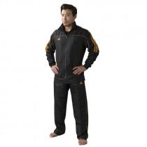 Adidas Team Track Training Pants - Black/Orange