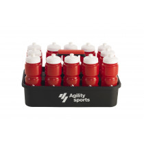 Agility Sports Bottle Crate - 12 Water Bottles Included