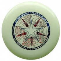 Discraft Ultra Star Frisbee - Glow in the Dark