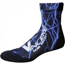 Megaform Sand Socks - Blue Lightning